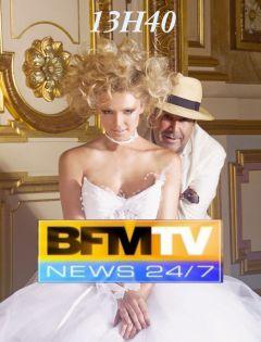 Passage à 13H40 sur BFM TV